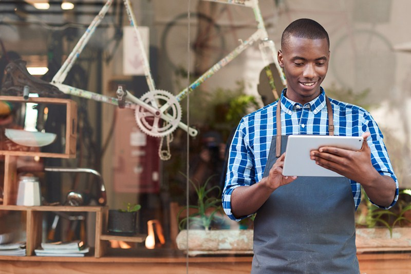 Students working summer jobs
