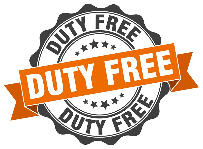 Changes to duty free shopping