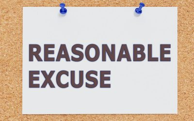 Reasonable excuses for making a late furlough claim