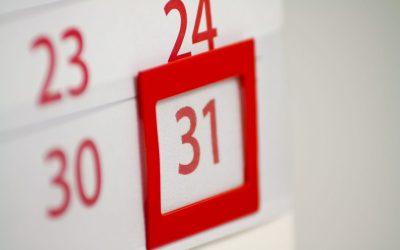 Self-Assessment filing deadlines